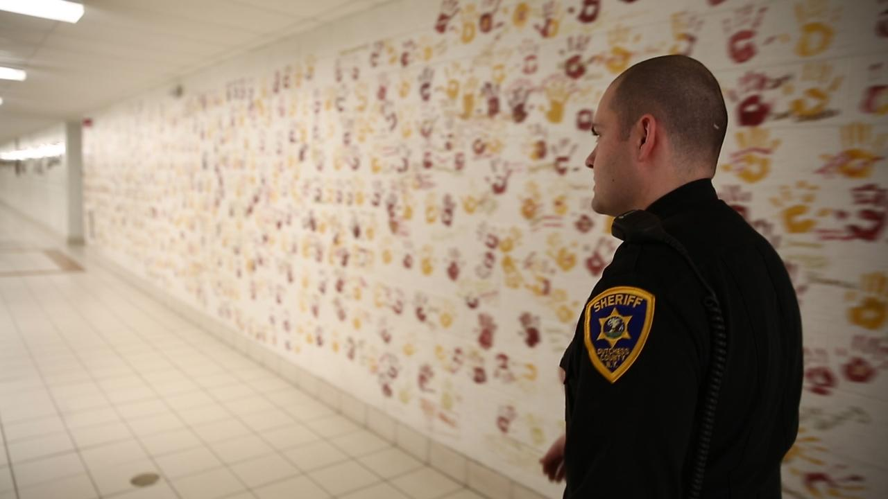 Dutchess County Sheriff's Deputy Evan Traudt is Arlington High School's school resource officer.  He talks about what it's like to go from patrolling Dutchess County's roads to Arlington's hallways.