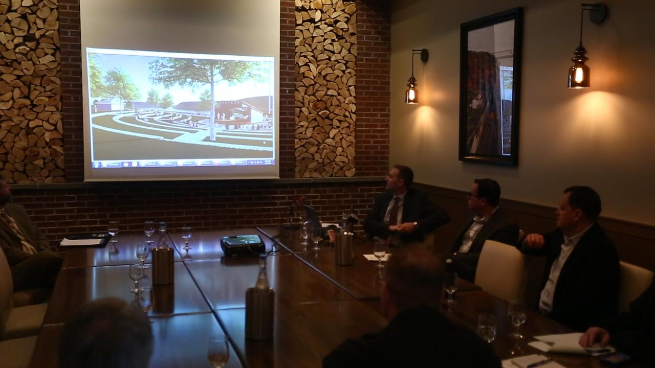 Bonura Hospitality Group and the City of Poughkeepsie announce a plan to develop the city's southern waterfront with public spaces and private residences.