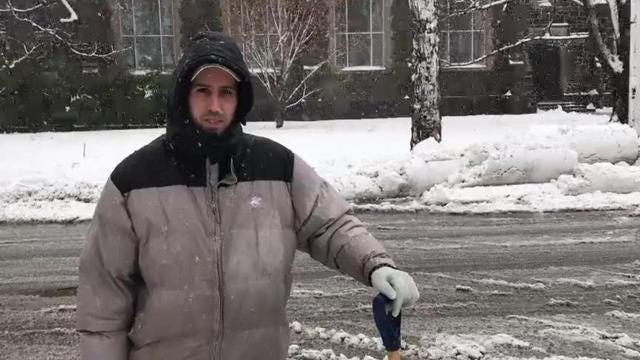 Heavy snow, wind impacts Dutchess County