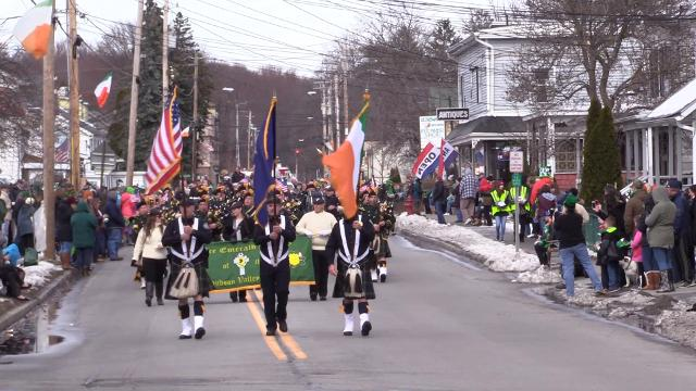 Highlights from the 23rd annual Dutchess County Saint Patrick's Parade in the Village of Wappingers Falls.