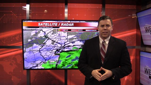 FIOS forecast for afternoon and evening for Dutchess and Ulster