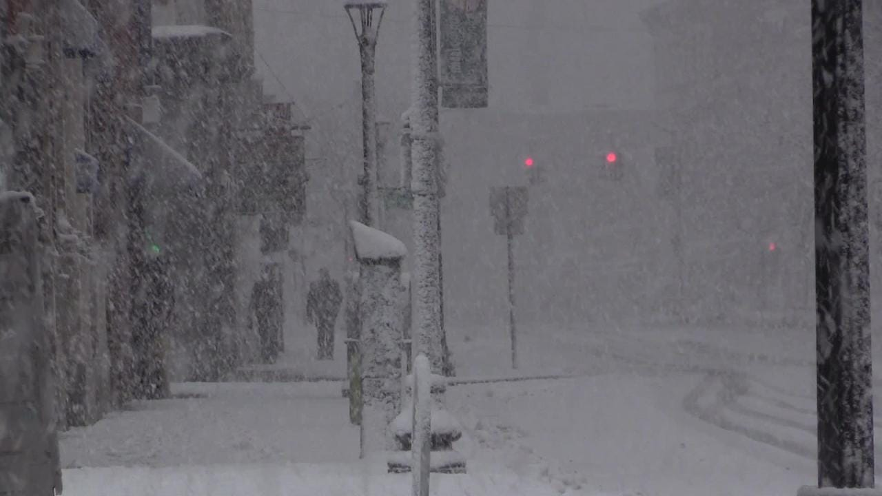Video: Sights and sounds of the nor'easter in Dutchess County