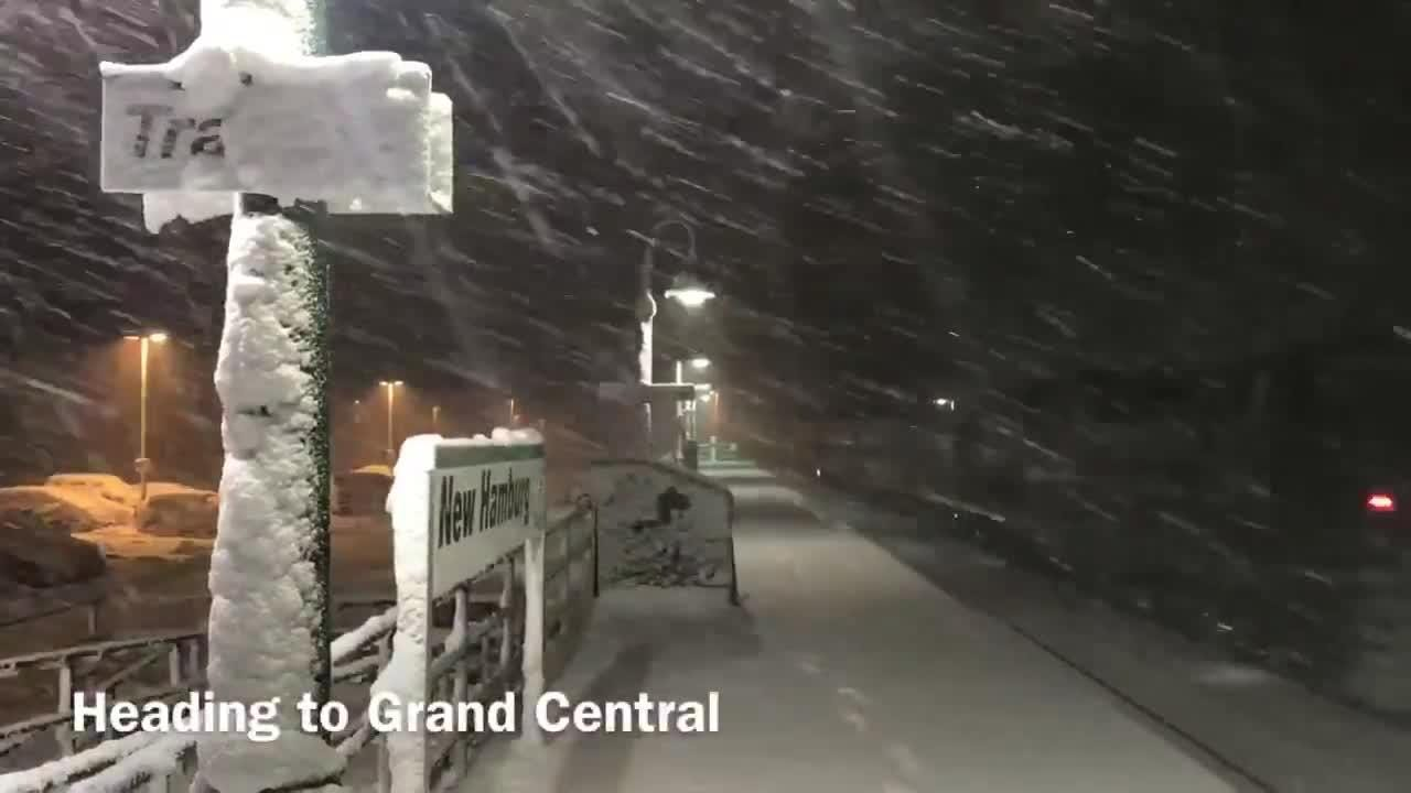 Video: New Hamburg: Roads are closed