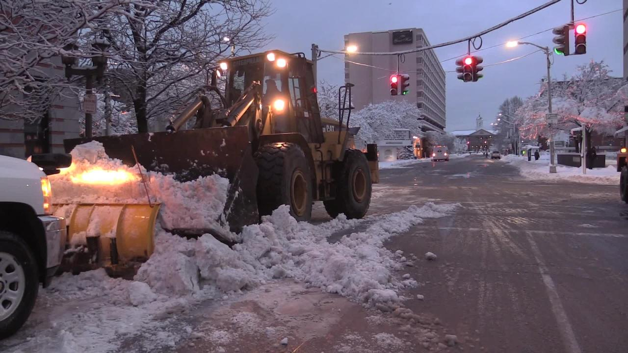 Video: Poughkeepsie digs out of the snow