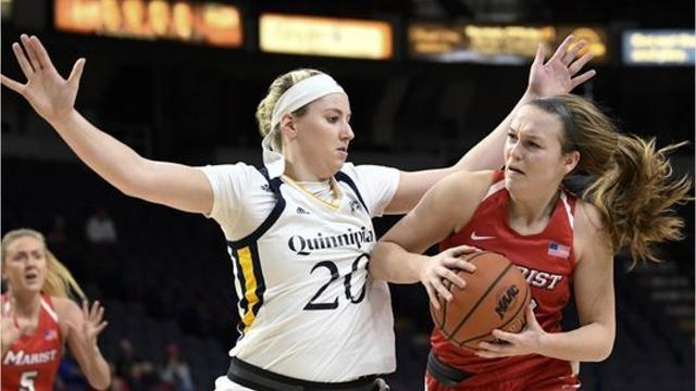 The Marist College women's basketball team is competing in this year's WNIT.