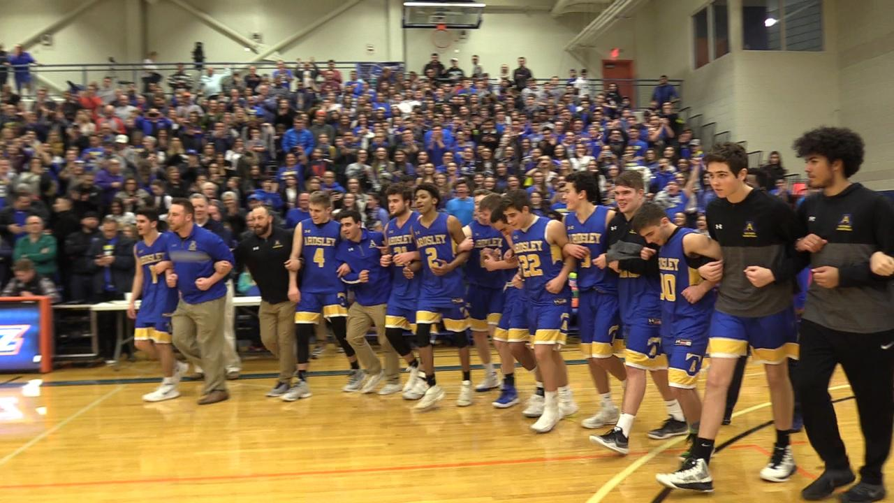 New Paltz falls to Ardsley in the Class A Regional Final held at SUNY New Paltz.