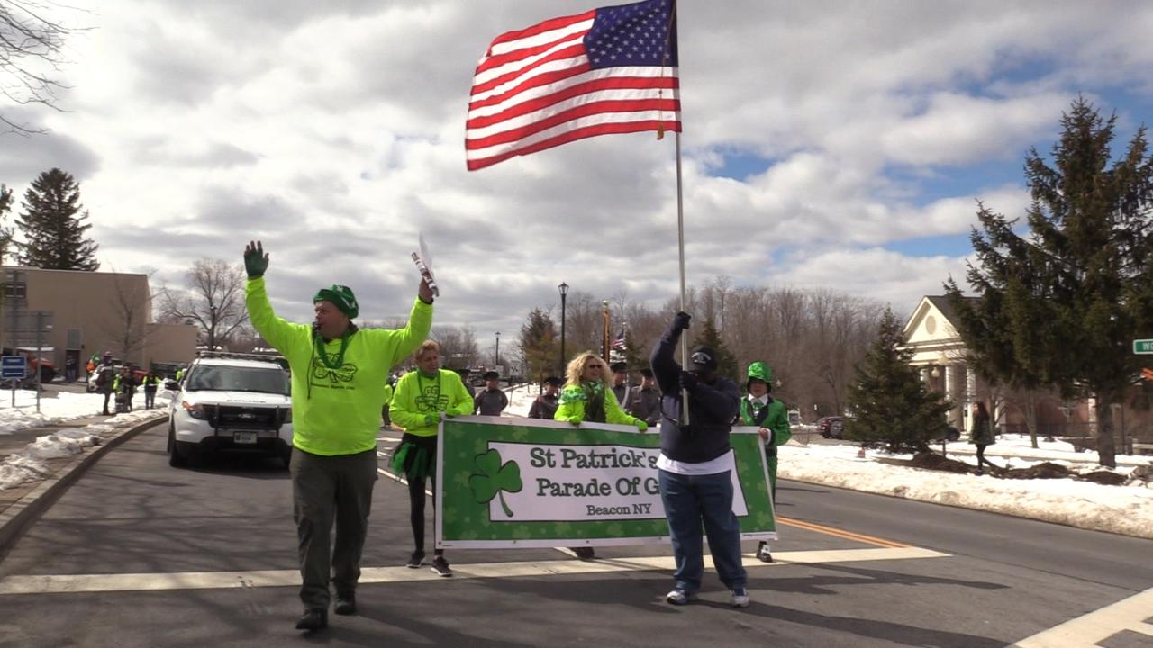 The 2nd annual Beacon Saint Patrick's Day Parade of Green.
