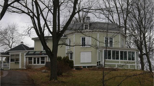 The Dubois-Sarles Octagon House at 16 South St. in Marlboro is one of 15 octagon houses standing in New York state. Video by Barbara Gallo Farrell/Poughkeepsie Journal