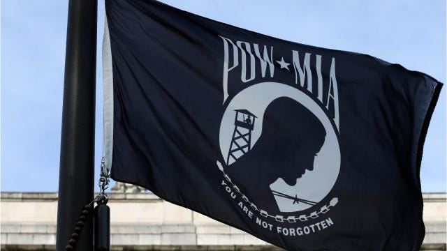 A dispute has emerged regarding POW/MIA flags flown in Rhinebeck at town and village hall. Video by John W. Barry/Poughkeepsie Journal.