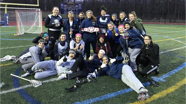 The Our Lady of Lourdes High School girls lacrosse team is hoping to build off its 9-9 record last year, and has been using a unique motivational method in preseason practices.