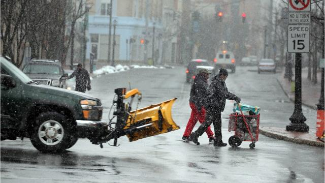The timing and severity of Wednesday's nor'easter proved too difficult to forecast, as dry air foiled initial expectations of snowfall throughout the day, according to the National Weather Service in Albany. Video by Jack Howland/Poughkeepsie Journal