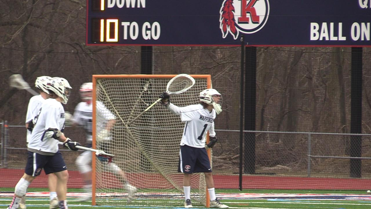 Wappingers boys lacrosse tops Brewster in Thursday's matchup.
