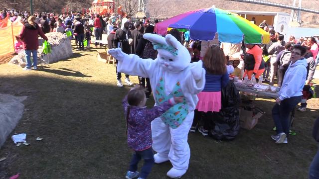 Waryas Park in the city of Poughkeepsie was the site for the 2018 John Flowers Old Fashioned Easter Egg Hunt