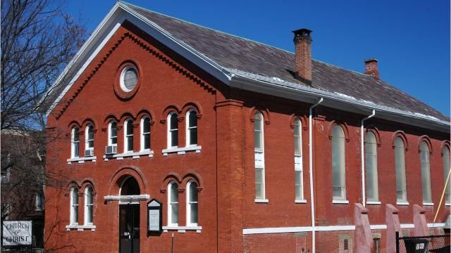 Montgomery Meeting House, a mid-19th century house of worship in the City of Poughkeepsie, has served three different denominations throughout its history. Video by Barbara Gallo Farrell/Poughkeepsie Journal