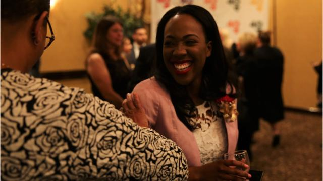 The 13th annual ceremony hosted by the Dutchess County Regional Chamber of Commerce recognized 40 people under the age of 40 who are making a difference in the county. Video by Jack Howland/Poughkeepsie Journal