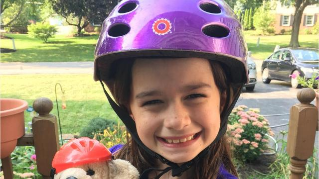 Ella Buss, 9, was diagnosed with chronic Lyme disease in 2016. Her mother and family have become advocates for Ella and others who suffer from the disease. Video by Amy Wu /Poughkeepsie Journal