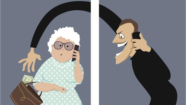 Here are some of the common phone scams and what you can do to notice and avoid them.