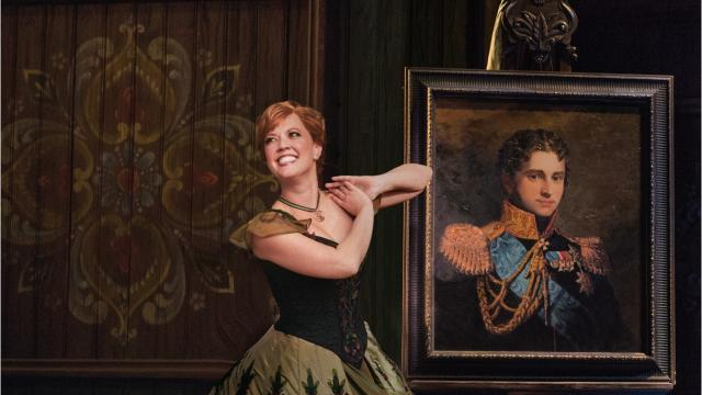 "Patti Murin, a graduate of John Jay High School, East Fishkill, lights up the stage, starring as Princess Anna, in the Broadway production of Disney's ""Frozen."" Video by Barbara Gallo Farrell/Poughkeepsie Journal"