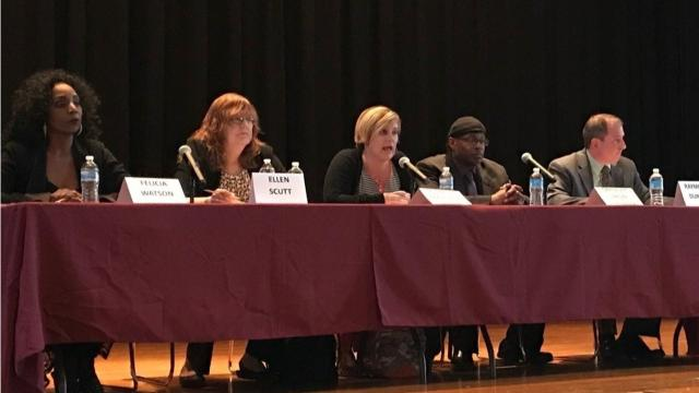 Poughkeepsie district residents approved a $99.8 million budget, returned one board incumbent to her seat, and replaced a longtime trustee with a newcomer.