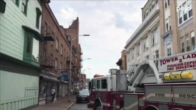 Structural collapse in City of Poughkeepsie