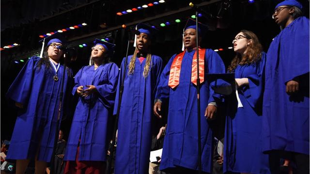 Most local graduates head to college