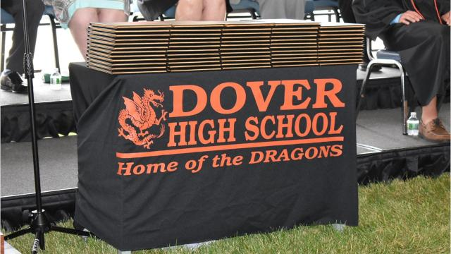 Dover High School's graduation ceremony on Saturday drew hundreds of families and friends who celebrated the accomplishments of the 112 graduates. Video by Amy Wu/The Poughkeepsie Journal