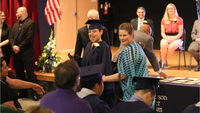The Anderson Center for Autism in Staatsburg recognized 18 graduating students in a ceremony on Friday attended by friends and family. Video by Jack Howland/Poughkeepsie Journal