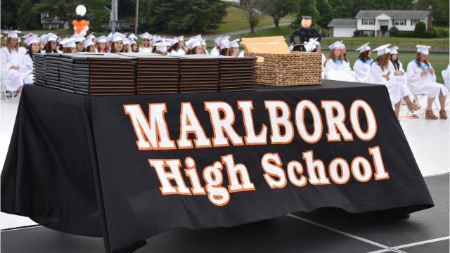 Marlboro High School 2018 graduation. Video by Amy Wu / The Poughkeepsie Journal