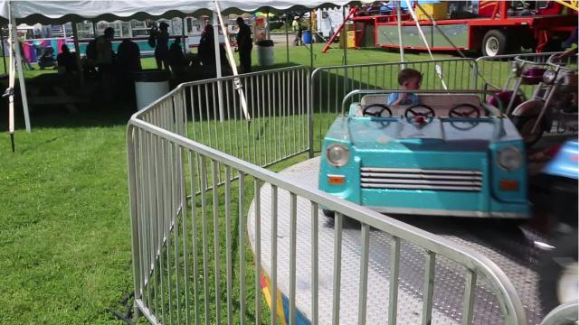 The annual weekend kicked off Friday in Cady Park in Pleasant Valley with rides, games and food vendors. It used to be held in September but was moved to July starting this year. Video by Jack Howland/Poughkeepsie Journal