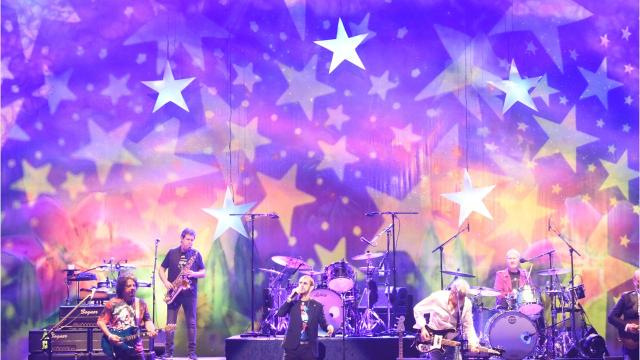 Ringo Starr and His All Starr Band performed at SPAC on Friday, Sept. 14. Video by John W. Barry/Poughkeepsie Journal.