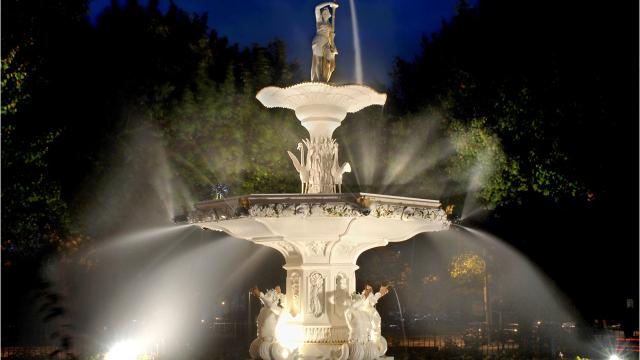 Soldiers Memorial Fountain in the City of Poughkeepsie was erected to honor local veterans who served in the Civil War. It was unveiled during a ceremony on July 4, 1870. Video by Barbara Gallo Farrell/Poughkeepsie Journal