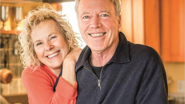 """Mary Anne and Richard Erickson, co-owners of Blue Mountain Bistro-to-Go, are celebrating 25 years of """"Feel Good Food"""" with their new cookbook. Video by Barbara Gallo Farrell/Poughkeepsie Journal"""