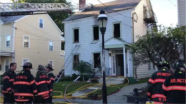 Arlington Fire Capt. Bill Steenbergh details what happened Friday morning when a fire damaged a four-family house in the town of Poughkeepsie.
