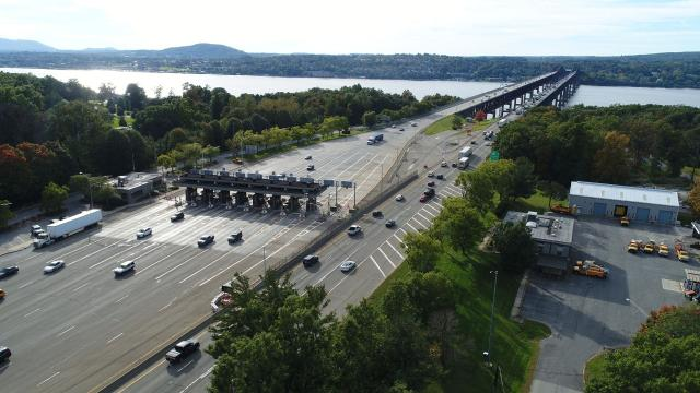 Annual trips across the five regional bridges operated by the New York State Bridge Authority have increased every year since 2011, according to bridge authority data. Traffic results in wear and tear on the bridges, according to officials, and the agency has a number of projects planned. Video by Jack Howland/Poughkeepsie Journal
