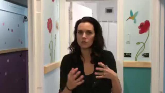 Video: Hilarie Burton shows off Astor renovations