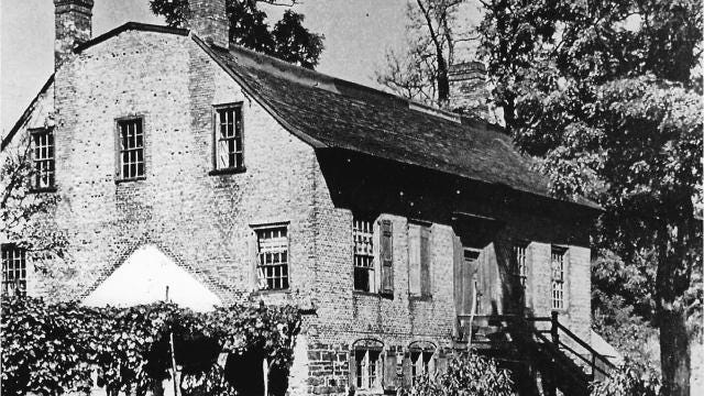 An 18th-century house that once stood at DePeyster Point in Fishkill Landing (now the City of Beacon) had an intriguing history during the American Revolution. Video by Barbara Gallo Farrell/Poughkeepsie Journal