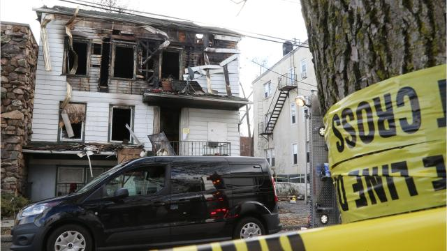 """Four bodies were recovered from a Poughkeepsie building Monday morning after City of Poughkeepsie fire put out a """"long, stubborn fire,"""" said city chief Mark Johnson."""