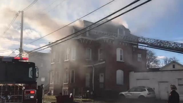 Multiple agencies responded to a structure fire on Smith Street in the City of Poughkeepsie Friday. City Chief Mark Johnson gives an update of the fire.