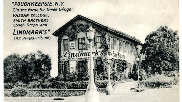 Lindmark's bookstore generated nationwide media attention in 1961 when its owner battled the state over reasonable compensation to relocate his rare book business during urban renewal. Video by Barbara Gallo Farrell/Poughkeepsie Journal