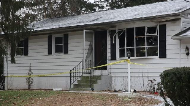 Fire and law enforcement agencies responded to a Hyde Park house fire early Tuesday morning in the area of Farm Lane and Route 9.