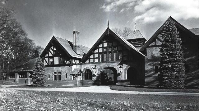 Frederick and Louise Vanderbilt purchased a 612-acre estate along Albany Post Road in Hyde Park in 1895. The Queen Anne-style coach house was completed in December 1897. Video by Barbara Gallo Farrell/Poughkeepsie Journal.