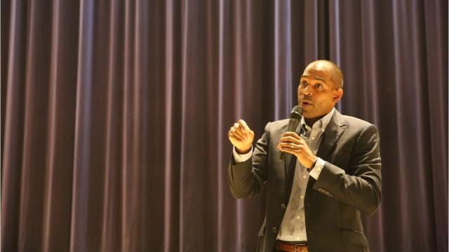 Newly elected Rep. Antonio Delgado, of Rhinebeck, stopped in Pine Plains for his first town hall in Dutchess County on Friday night. He talked about a wide range of issues, from the government shutdown, to border security, to safety in schools. Video by Jack Howland/Poughkeepsie Journal