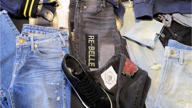 Shoppers are finding cheaper ways to get their jean fix.