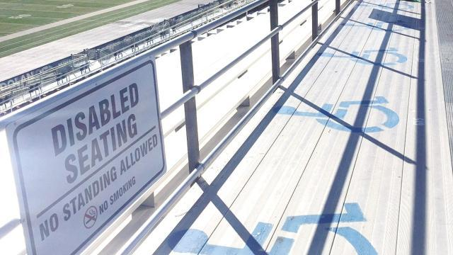 Coming soon: The RGJ investigates seating for disabled fans at Mackay