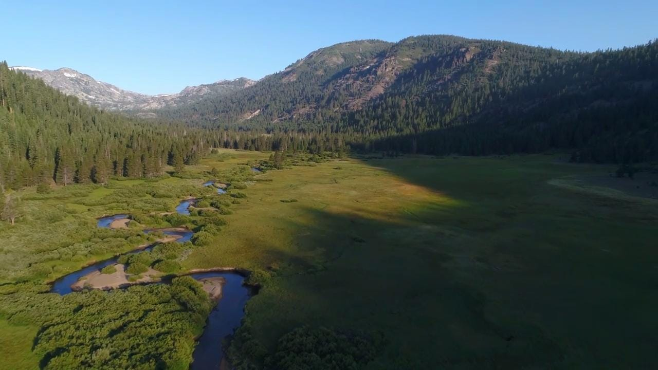 Watch: First look at beautiful 'secret' Sierra valley