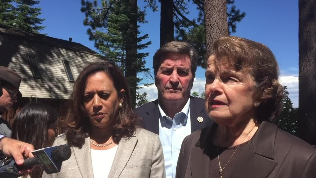 Sen. Dianne Feinstein, D-Calif., defends national monuments in California and says the Trump administration shouldn't engage in vindictive politics.