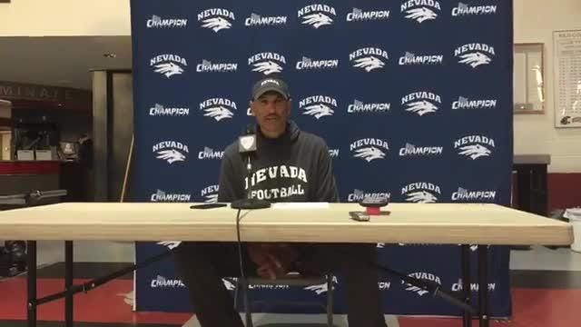 Watch: Coach Norvell breaks down Nevada's 45-7 loss to Wazzu