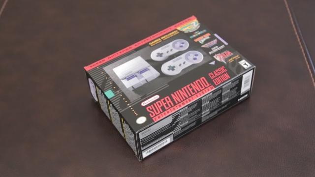 Technobubble: Unboxing the Nintendo SNES Classic Edition retro console