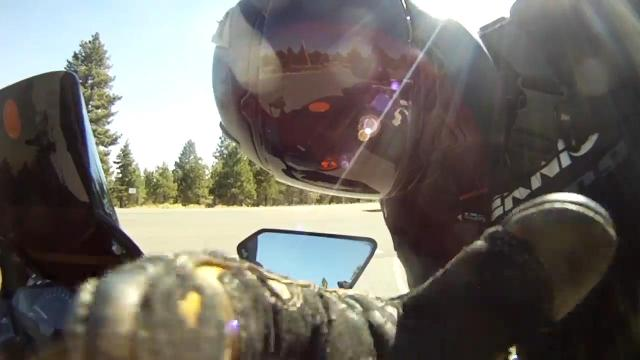 Watch: Take a scenic motorcycle ride around Mt. Rose Highway
