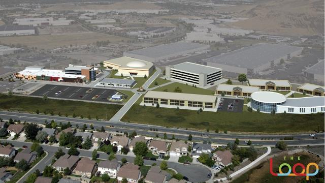 A $30 million recreation, entertainment, sports and dining complex was announced Oct. 17 for South Meadows are of Reno. Here's a few of the renderings.